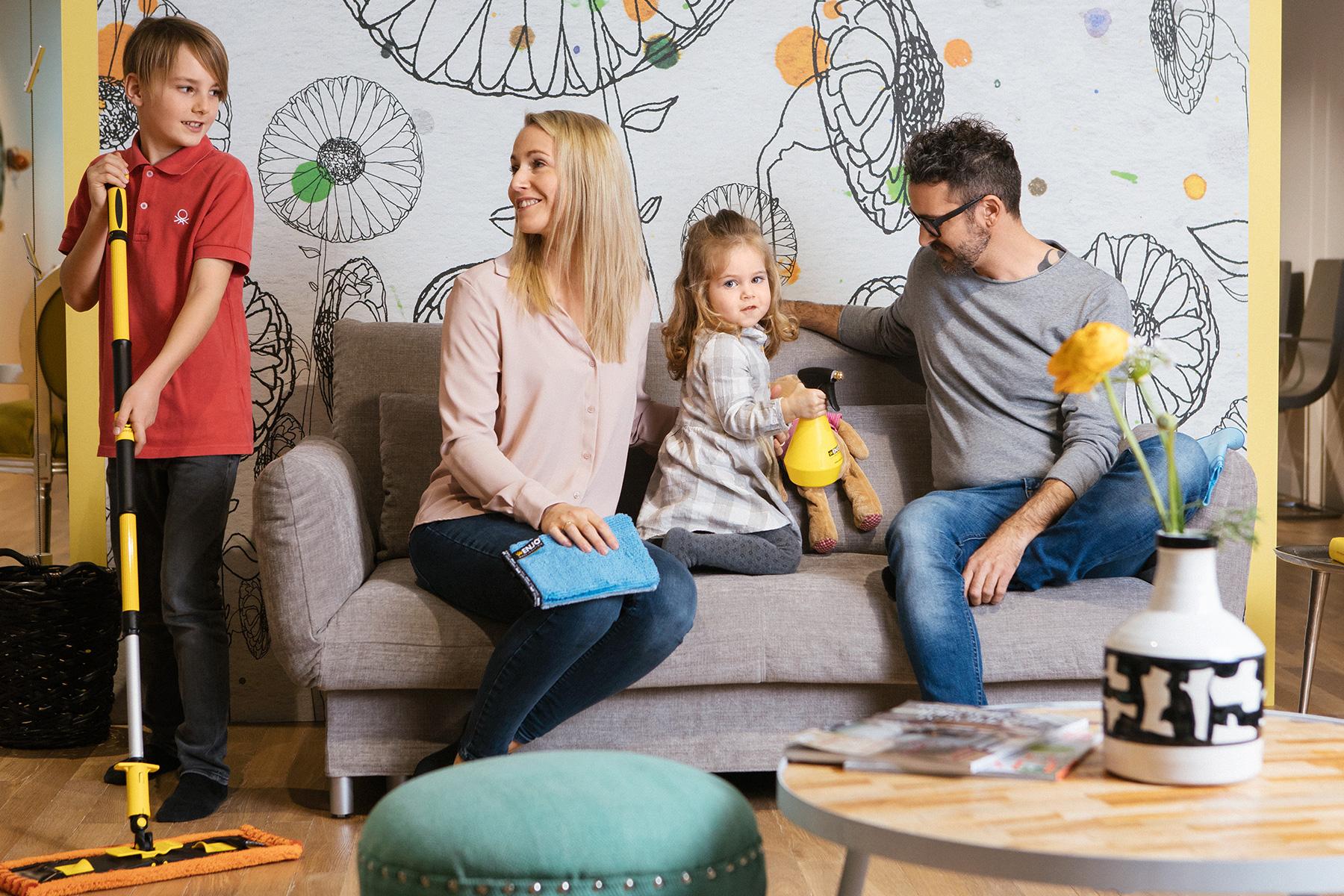 Frische reine Luft clear air clean sauber familie family reinigen