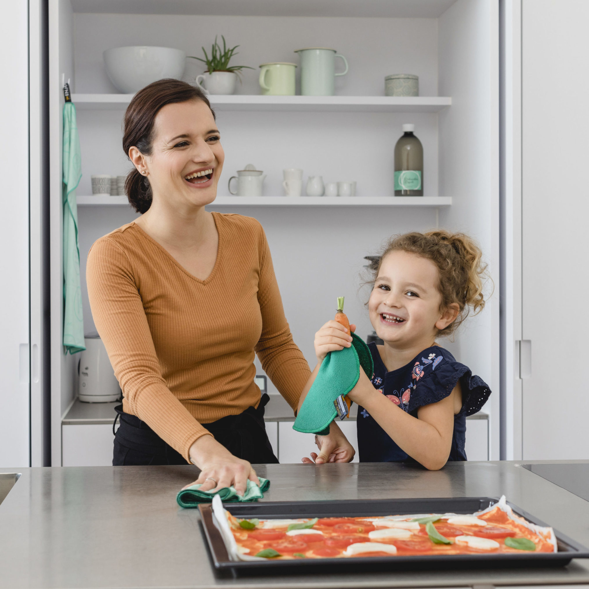 Kitchen cleaning no chemicals